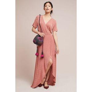 Anthropologie Natasha Wrap Dress